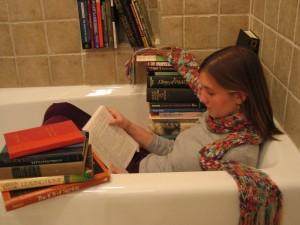 bathtub books