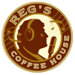 reg's coffee house logo